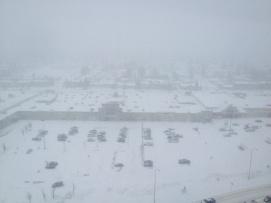 Snowstorm on 09 Dec 2013