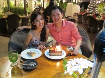 Birthday Dinner at Pangkor Laut