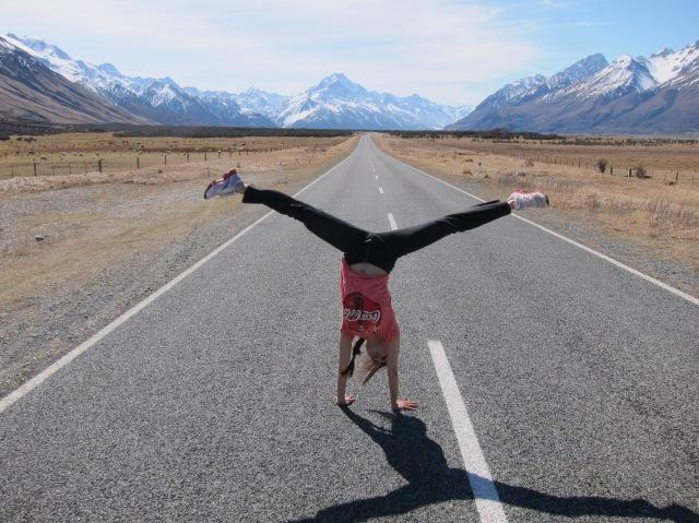 Cartwheel in NZ