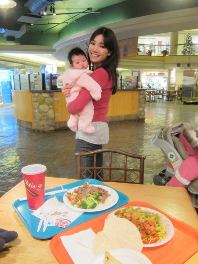 Food Court dinner