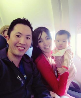 On board Air Canada