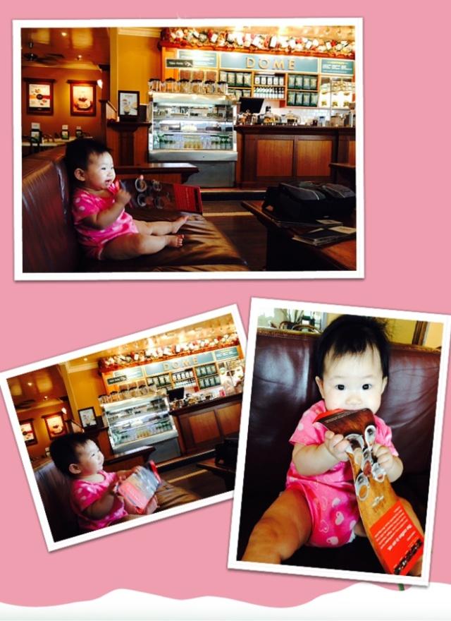 Baby E at Dôme Café