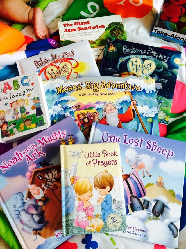 Board books for Baby E
