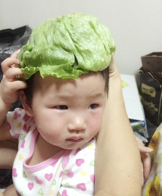 Lettuce hat