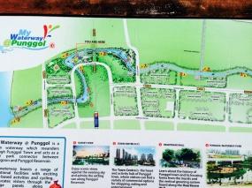 Punggol Waterway Park map