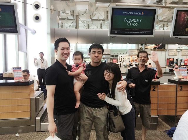 Family photo at T3