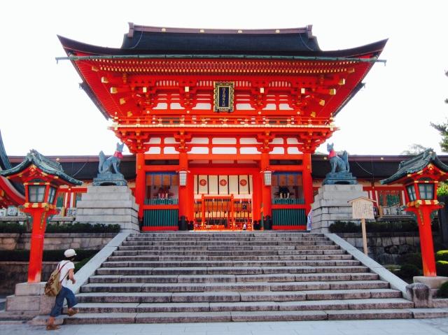 Main building of Fushimi-Inari Shrine