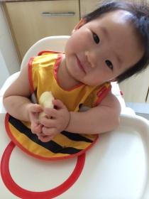 Mommy, I love apples!