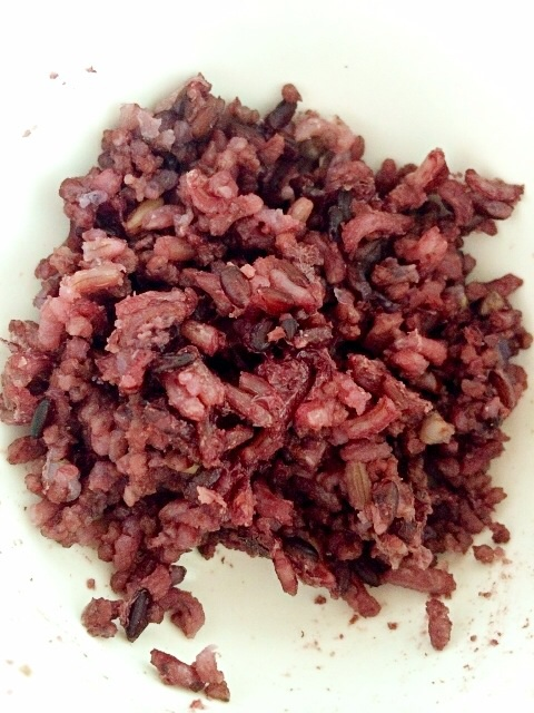 Healthy organic rice