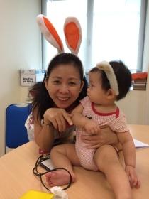 Aunty Judy with Baby E