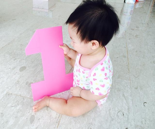 Mommy, I am turning one?!