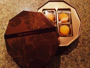 The Peninsula mooncakes