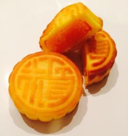 The Peninsula's Mini Egg Custard mooncakes