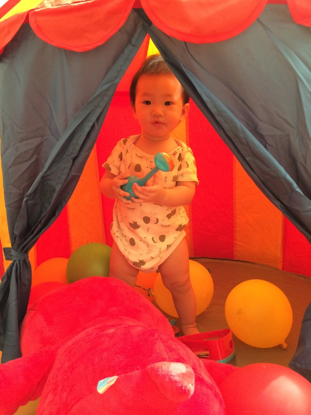 I own the tent