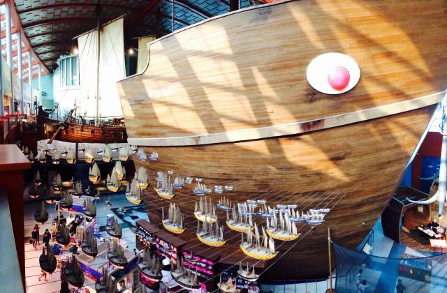 Giant Merchant Ship