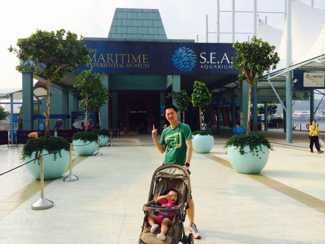 JE at SEA Aquarium