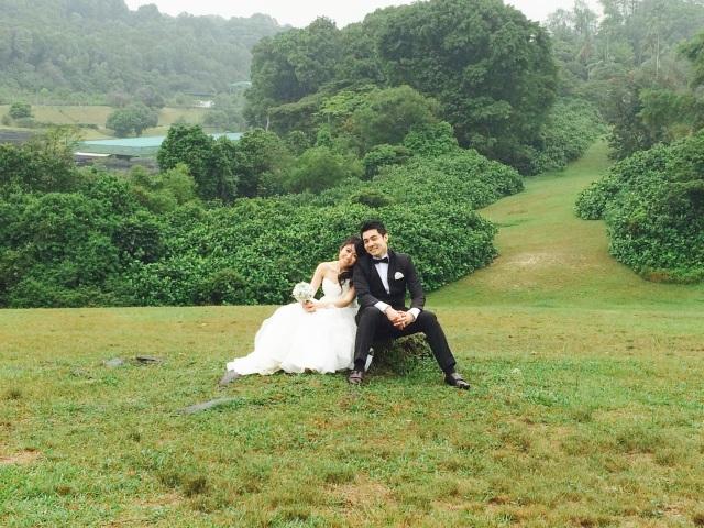 B and VA's pre-wedding shoot