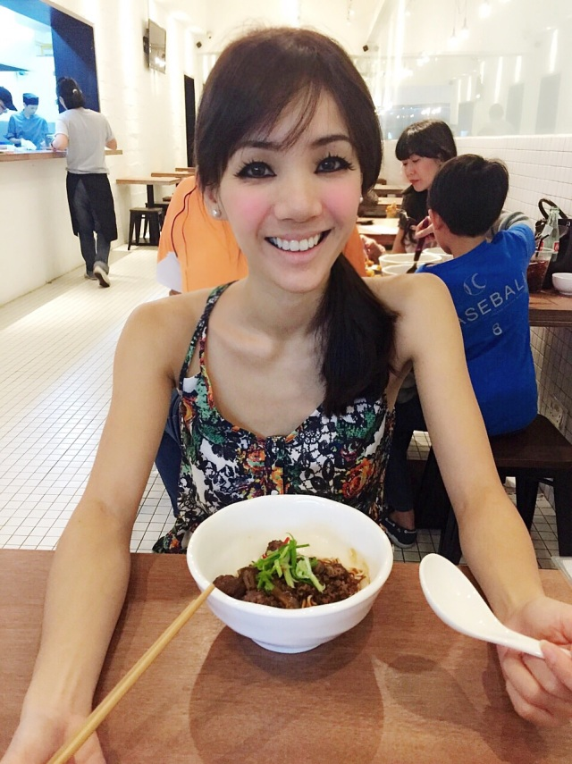 Satisfied customer at GRUB Noodle Bar