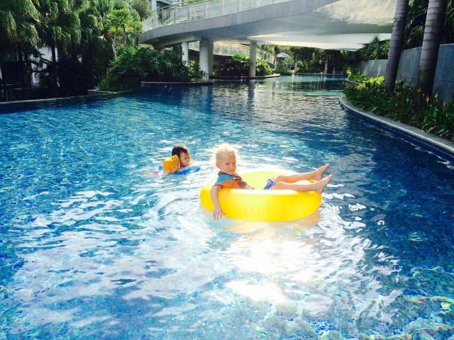 Pool dipping