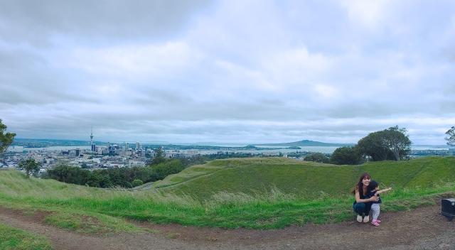 Mount Eden panorama