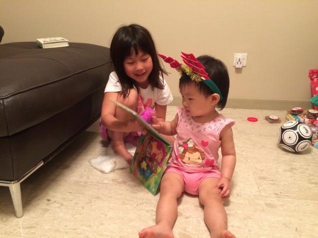 Daniella with Little E