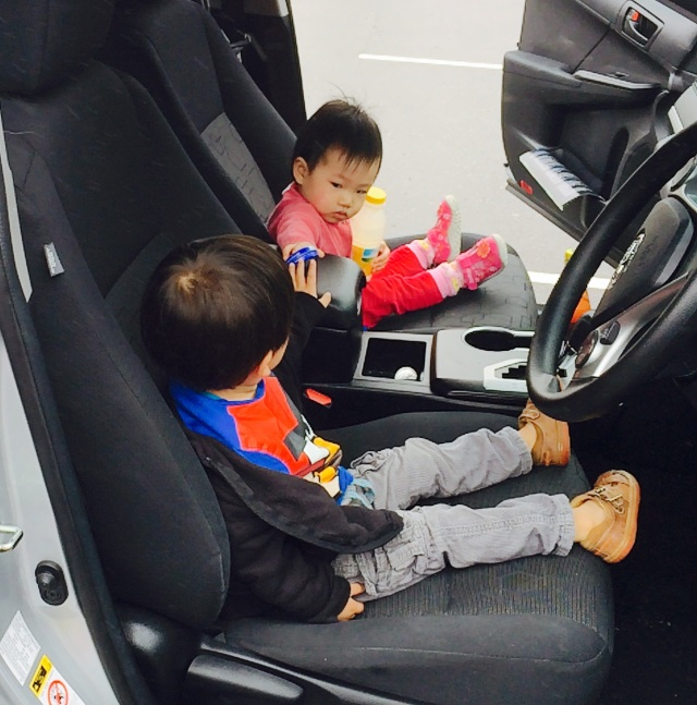 2 young drivers