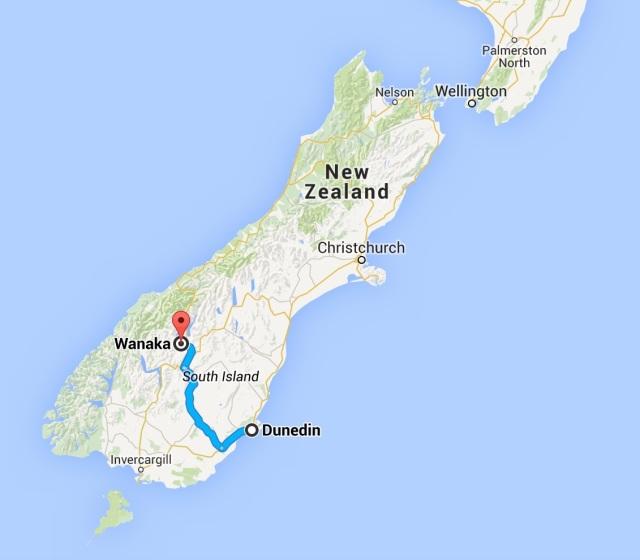 Dunedin to Wanaka
