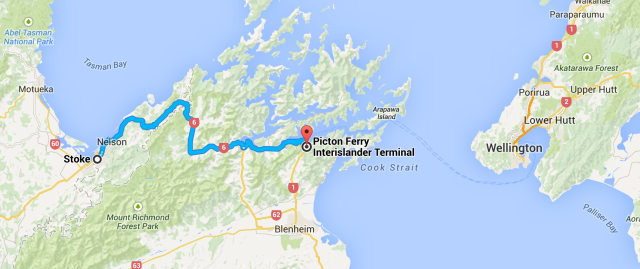 Nelson to Picton