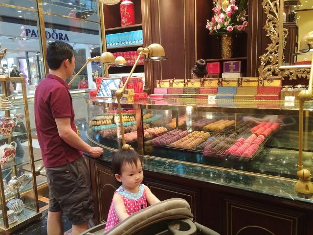 Macarons at TWG