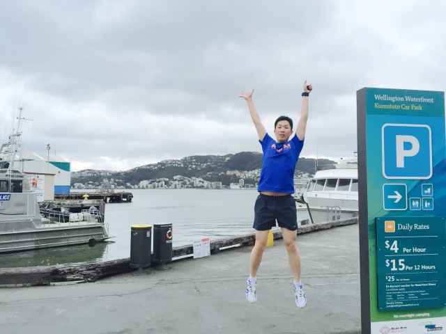 J's jump shot at the Queens Wharf