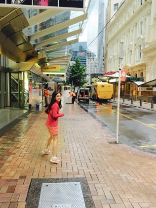 morning run in Wellington