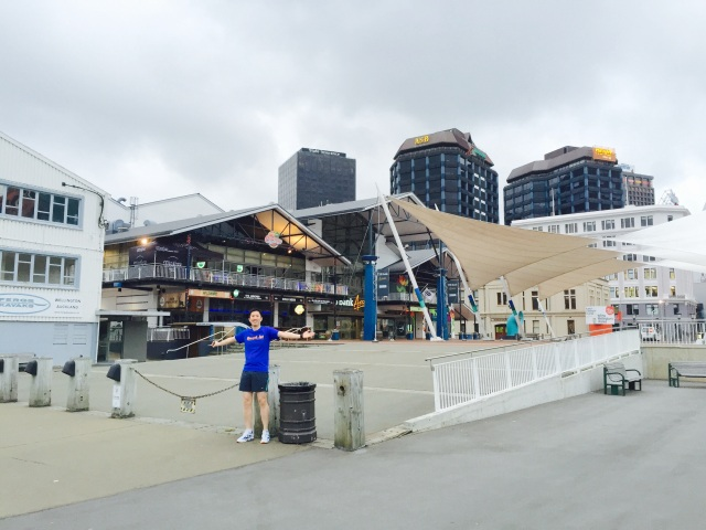 Bars and restaurants at the wharf