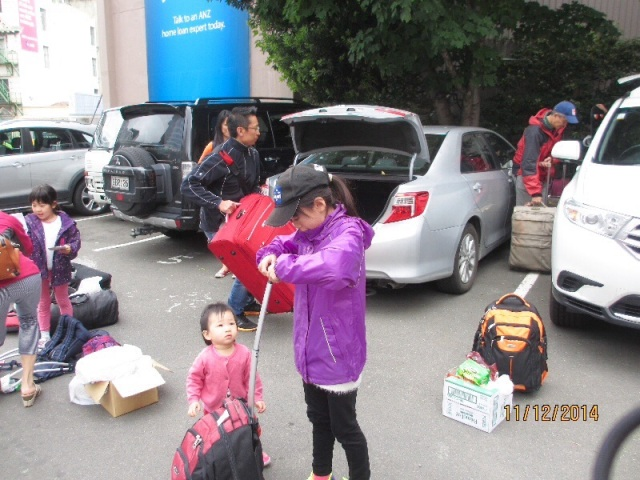 Unloading in Wellington