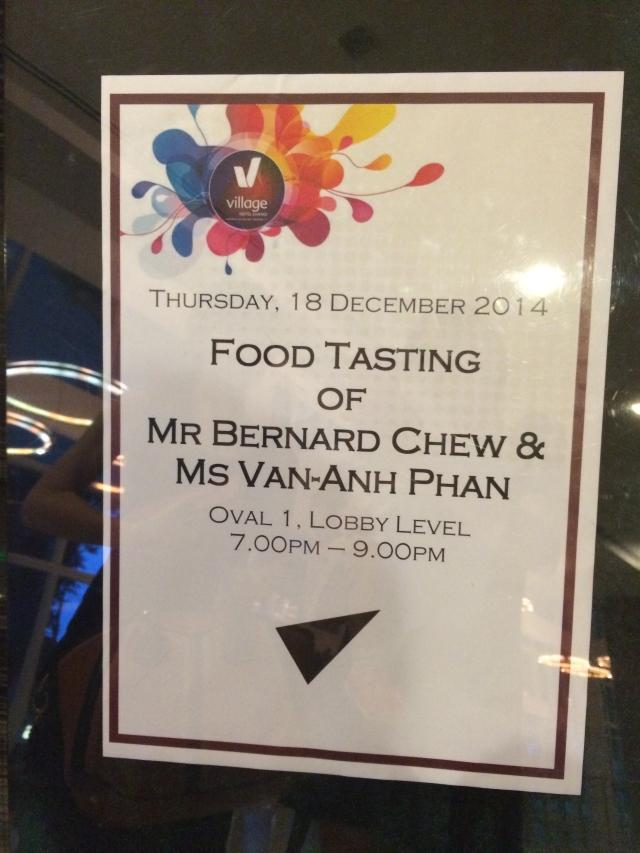 Food Tasting poster