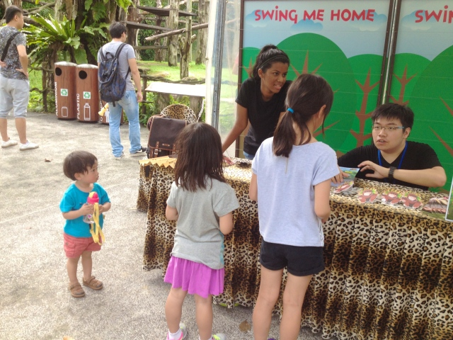 IDM playing games in the zoo