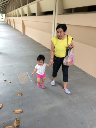 Mom with Little E