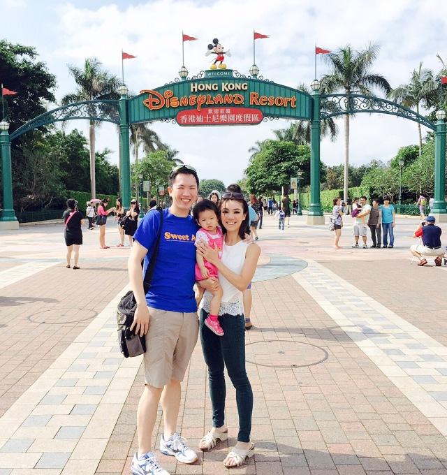 Hello from Disneyland Hong Kong