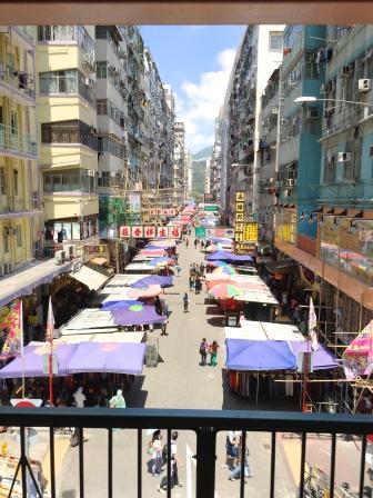 Markets in Mong Kok