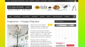 Imaginarium - A Voyage of Big Ideas review on SAGG website
