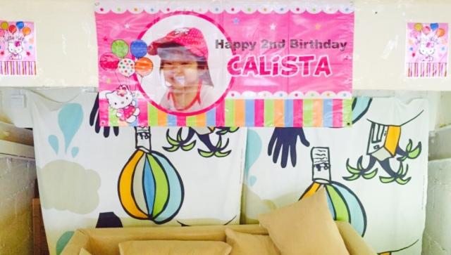 Calista's 2nd Birthday