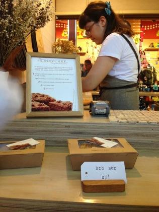 Honeycake in Fremantle Markets