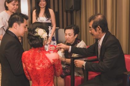 BVA presenting tea to my parents.