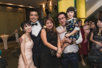 Newly weds with the Ong Family. Joyce is our cousin.