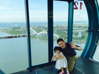 JE on Singapore Flyer