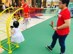 Marina Square SG50 playground exhibition