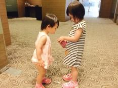 Chloe and Little E