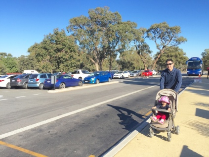 Kings Park car bay