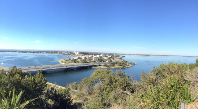 Last view of Perth