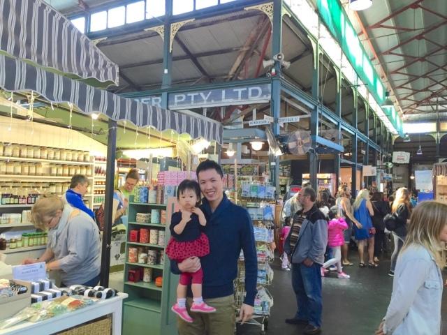 JE in Fremantle Markets