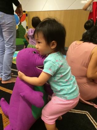 E and Barney